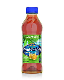 Green Tea w/Honey 12 of 18.5 OZ By TRADEWINDS