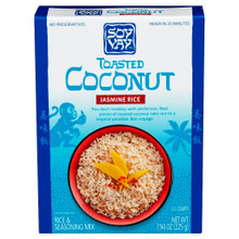 Toasted Coconut Jasmin Rice Mix 6 of 7.94 OZ By SOY VAY