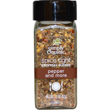 Pepper & More 6 of 2.2 OZ By SIMPLY ORGANIC