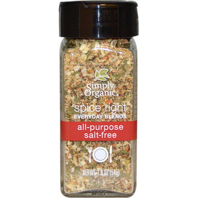 All-Purpose Salt-Free 6 of 1.8 OZ By SIMPLY ORGANIC