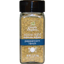 Peppercorn Ranch 6 of 2.5 OZ By SIMPLY ORGANIC