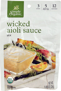 Wicked Aioli Sauce Mix 12 of 1 OZ By SIMPLY ORGANIC