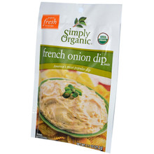 French Onion Dip Mix 24 Pack 1.1 oz (31.2 g) From Simply Organic