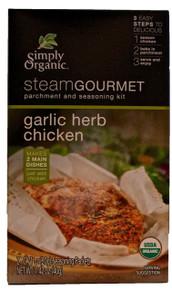 Garlic Herb Chicken 6 of 1.42 OZ SIMPLY ORGANIC