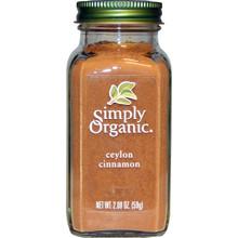 Ceylon Cinnamon 6 of 2.08 OZ By SIMPLY ORGANIC