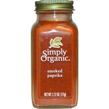 Paprika Smoked 6 of 2.72 OZ By SIMPLY ORGANIC