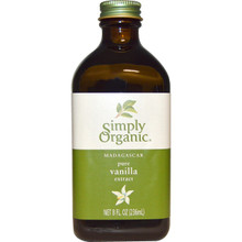 Pure Vanilla w/Alcohol 6 of 8 OZ By SIMPLY ORGANIC