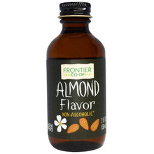 Almond Flavor Alcohol-Free 2 fl oz (59 ml) From Frontier Natural Products