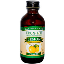 Lemon Flavor Alcohol-Free 2 fl oz (59 ml) From Frontier Natural Products