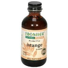 Orange Flavor Alcohol-Free 2 fl oz (59 ml) From Frontier Natural Products