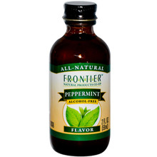 Peppermint Flavor Alcohol-Free 2 fl oz (59 ml) From Frontier Natural Products