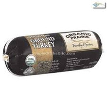Ground Turkey Chub 10 of 12 OZ Organic Prairie