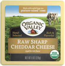 Cheddar Sharp 12 of 8 OZ From ORGANIC VALLEY