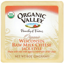 Monterey Jack 12 of 8 OZ From ORGANIC VALLEY