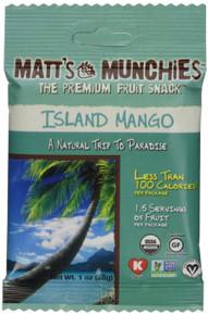 Island Mango 12 of 1 OZ By MATT`S MUNCHIES