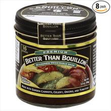 Seasoned Vegetable Base 8 of 3.5 OZ By BETTER THAN BOUILLON