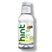 Water Unsweet Pineapple 12 of 16 OZ By HINT