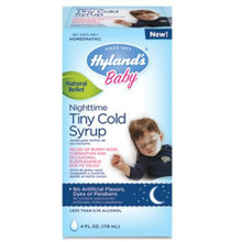 Baby Night Time Tiny Cough Syrp 4 OZ HYLANDS HOMEOPATHIC REMEDIES