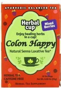 Happy Colon Mixed Berry 6 of 16 BAG HERBAL CUP TEA