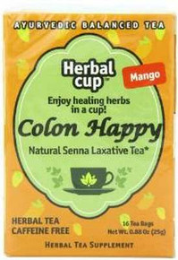 Happy Colon Mango 6 of 16 BAG HERBAL CUP TEA