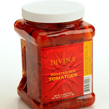 Roasted Tomatoes in Oil/Herbs 6 of 10 OZ By DIVINA