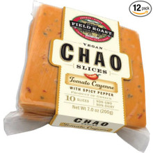 Chao Tomato Cayenne Slices 12 of 7 OZ By FIELD ROAST