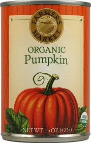 Organic Pumpkin 12 Pack 15 oz (425 g) From Farmers Market Foods