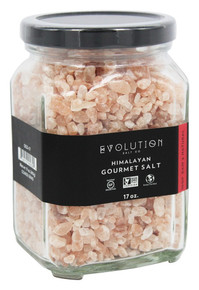 Coarse Grind Glass Jar 17 OZ By EVOLUTION SALT CO
