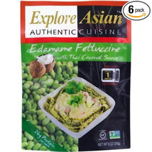 Edamame Fettuccine/Thai Cnut Sce 6 of 9 OZ By EXPLORE ASIAN
