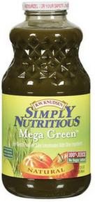 Mega Green, 12 of 32 OZ, R.W. Knudsen Family