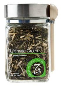 Ultimate Green Glass Jar 4 of 1.5 OZ By ZHENA`S GYPSY TEA