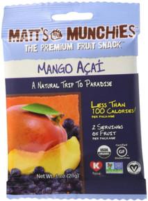 Mango Acai 12 of 1 OZ By MATT`S MUNCHIES