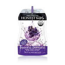 Goodness Grapeness Juice 4 of 8 of 6.75 OZ Honest Kids