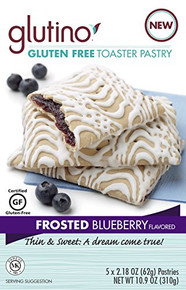 Frosted Blueberry 6 of 10.9 OZ By GLUTINO