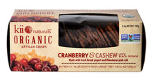 Cranberry/Cashew/Blk Quinoa 6 of 5.3 OZ By KII NATURALS