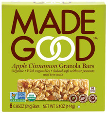 Apple Cinnamon 6 of 6 of 5 OZ By MADE GOOD