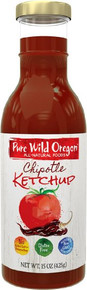 Ketchup Chipotle 12 of 12 OZ By PURE WILD OREGON