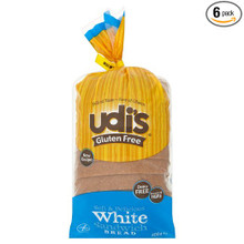 Breat Sandwich White 6 of 24 OZ By UDI`S GLUTEN FREE