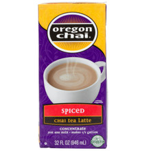 Spiced Chai Tea Latte 6 of 32 OZ From OREGON CHAI