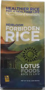 Forbidden Rice 6 Pack 15 oz (426 g) From Lotus Foods
