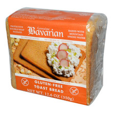 Toast Bread Gluten Free 6 of 12.6 OZ By GENUINE BAVARIAN