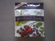 Organic Antioxidant Fusion Dried And Unsulfured 12 Pack 4 oz (113 g) From Made in Nature