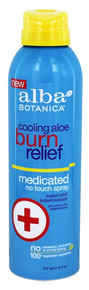 Cooling Aloe Burn Relief 6 OZ By ALBA BOTANICA