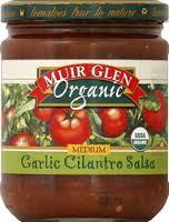 Garlic Cilantro Medium 12 of 16 OZ Muir Glen