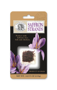 Saffron Strands 12 of .0175 OZ From CUCINA & AMORE