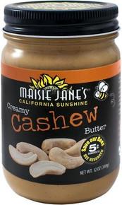 Butter Creamy Cashew 12 of 12 OZ By MAISIE JANE`S