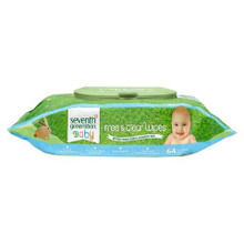 Baby Wipes Free & Clear 6 Pk 1 of 6 of 64 CT By SEVENTH GENERATION