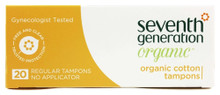Tampons Regular Digital 12 of 20 CT By SEVENTH GENERATION