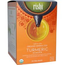 Tumeric Ginger FT 6 of 15 BAG From RISHI TEA
