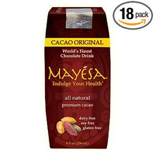 Chocolate Cacao, Original, 12 of 8 OZ, Mayesa